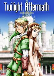 blush breasts link palcomix princess_zelda tagme the_legend_of_zelda twilight_princess