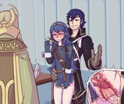 2015 2girls blue_eyes blue_hair blush chrom cum cum_in_pussy emerina father_and_daughter fingerless_gloves fire_emblem fire_emblem:_kakusei flat_chest gloves incest internal_cumshot long_hair lucina multiple_girls ovaries penis pussy_juice sex short_hair stealth_sex straight tears tenk thetenk tiara uncensored uterus vaginal_penetration x-ray