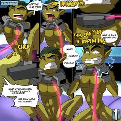 beast_boy forced iyumiblue male male/male not_furry penis teen_titans
