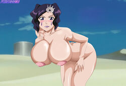 bleach cirucci_sanderwicci cirucci_thunderwitch day female_only foboss121 front_view greengiant2012 nude outdoors solo