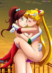 2girls bishoujo_senshi_sailor_moon blush dildo long_hair sailor_jupiter sailor_moon tagme vaginal_penetration very_long_hair yuri yuri_haven