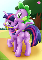 equestria_untamed female friendship_is_magic my_little_pony spike_(mlp) tagme twilight_sparkle_(mlp)