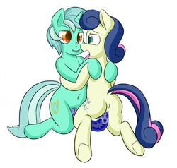 ass bonbon duo earth_pony equine female friendship_is_magic hair horn horse leafrunnerk lyra mammal my_little_pony nude open_mouth penetration pony pussy sex sex_toy simple_background smile toy unicorn vaginal_penetration vaginal_penetration white_background