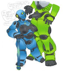 android balls bionicle breasts cane humanoid lego lewa machine mature_female not_furry penis pussy robot roly size_difference tradition turaga_nokama