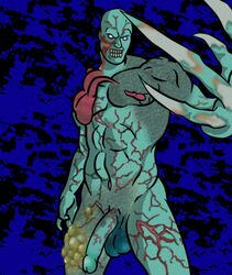 male male_only mrsb resident_evil tyrant undead zombie