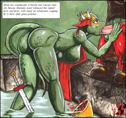 argonian breasts fellatio female lifts-her-tail male male/female melee_weapon oblivion oral scalie sex sword tagme the_elder_scrolls video_games weapon yuricrabking