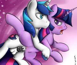 balls blush brother brother_and_sister equine friendship_is_magic incest my_little_pony penis pussy sex shining_armor_(mlp) sister straight twilight_sparkle_(mlp) vaginal_penetration