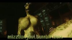 3d anal animated argonian bouncing_breasts breasts brown bubble_butt dark-skinned dark_elf dunmer elf erect_nipples erection futanari herm herm_on_futa horsecock intersex jiggle large_penis lizard mizzbonjovi necklace nipples nude on_back penis pubic_hair reptile reverse_cowgirl riding scales sex skyrim tattoo testicles text the_elder_scrolls thick_thighs uncensored video_games wide_hips