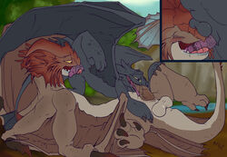 69 cloudjumper dragon fuf how_to_train_your_dragon male male/male oral sex tagme toothless