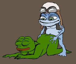 anal couple crazy_frog male male/male meme pepe what