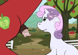 animated animated macintosh my_little_pony suck swallow sweetie_belle_(mlp)