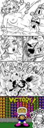 blush bomb bomberman breasts chico_(metal_gear) cigarette closed_eyes comic crossover crying death dialogue english_text explosion explosives eye_patch eyewear female grabbing_sheets happy hat human humor male male/female mammal metal_gear nipples nude paz_ortega_andrade penetration penis pubes saliva sex speech_bubble sweat tears text tongue tongue_out unknown_artist v_sign vaginal_penetration vaginal_penetration video_games