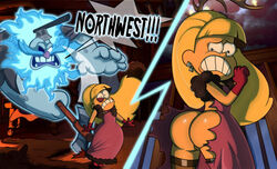 ass ghost gravity_falls grimphantom pacifica_northwest