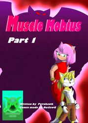 2016 amy_rose anthro canine clothing comic fox fur growth_master_comics heghog mammal muscle_mobius outlawg_(artist) sonic_(series)