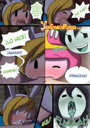 adventure_time fionna fionna_the_human_girl marceline marceline_the_vampire_queen misadventure_time princess_bubblegum