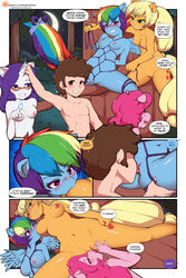 1boy 4girls anthro applejack_(mlp) arm_support ass blonde_hair blue_eyes blue_fur blush bondage bound breast_sucking breasts brown_hair clitoris comic crossover cunnilingus cutie_mark dialogue dipper_pines disney drooling english_text equine erect_nipples eyewear female friendship_is_magic fur glasses gravity_falls green_eyes hair hi_res horn horse human interspecies large_breasts lick licking long_hair looking_at_viewer magic male mammal multicolored_hair my_little_pony navel nipples nude open_mouth oral orange_fur orgasm outside pegasus pink_fur pink_hair pinkie_pie_(mlp) pony ponytail puffy_nipples purple_hair pussy pussy_juice rainbow_dash_(mlp) rainbow_hair rarity_(mlp) saliva sex shadowfenrirart short_hair smile spread_legs straight sucking text tied_up tongue tongue_out tree uncensored unicorn vaginal_penetration white_fur wings yuri