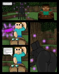 ass big_ass black block comic enderwoman female game minecraft rule_63 steve xxx