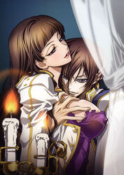 code_geass incest lelouch_lamperouge marriane_vi_britannia tagme