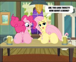 anus fluttershy_(mlp) food friendship_is_magic invalid_tag magic my_little_pony pie pinkie pussy tabel