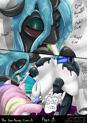 anal anal_sex bondage bondage bound comic cunnilingus equine female foursome friendship_is_magic goo group group_sex horn hornjob horse kissing licking lipstick mammal my_little_pony nana_gel nightmare_moon_(mlp) oral penetration pony princess_cadance_(mlp) princess_celestia_(mlp) princess_luna_(mlp) pussy queen_chrysalis_(mlp) sex slime tongue tongue_out vaginal_penetration vaginal_penetration