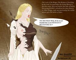 eowyn lord_of_the_rings quasi99 tagme
