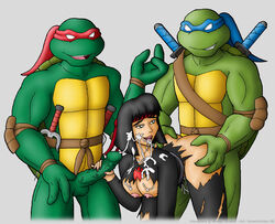 karai knownvortex leonardo raphael tagme teenage_mutant_ninja_turtles