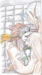 color female female_only interspecies link midna multiple_females nintendo nude rule_63 size_difference the_legend_of_zelda twili twilight_princess
