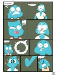 comic gumball nicole page watterson