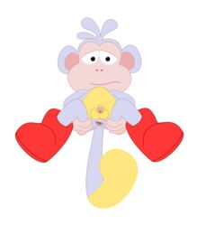 boots boots_the_monkey color dora_the_explorer fur furry male male_only monkey solo