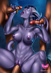 balls blue_hair breasts draenei erection female glowing glowing_eyes group group_sex hair handjob horn human male mammal nipples nude penetration penis pointy_ears purple_skin pussy sex spread_legs spreading tail_sex tailjob tongue tongue_out vaginal_penetration vaginal_penetration video_games vincentcc warcraft