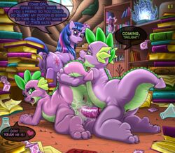 2014 anus dragon english_text equine erection female feral friendship_is_magic heart horn horse kitsune_youkai male mammal my_little_pony penetration penis pinkie_pie_(mlp) pussy rule_63 sex spike_(mlp) square_crossover tagme text twilight_sparkle_(mlp) unicorn vaginal_penetration vaginal_penetration