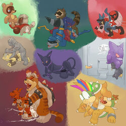 69 alakazam all_fours anal anal_sex animal_crossing anus argon_vile ass ass_up balls banette black_penis bowser bowser_jr. closed_eyes cum cum_in_ass cum_in_mouth cum_inside cum_on_floor cum_while_penetrated cumshot digby_(animal_crossing) digimon doggy_style erection feline fellatio from_behind furry_only gay gengar ghost glory_hole group guardians_of_the_galaxy guilmon hands-free humanoid_penis koopa lemmy_koopa lucario lying machoke male mammal mario_bros meowser nintendo nude on_back one_eye_closed open_mouth oral oral_sex orgasm penetration penis pokemon raccoon rimming rocket_raccoon scalie sex size_difference sly_cooper sly_cooper_(series) spanking spirit tales_of_(series) tales_of_symphonia tenebrae throh tom_nook_(animal_crossing) tongue tongue_out video_games