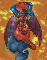 alicorn anthro atryl breasts clothed clothing cosplay equine female friendship_is_magic horn mammal my_little_pony princess_luna_(mlp) pussy skimpy solo wings
