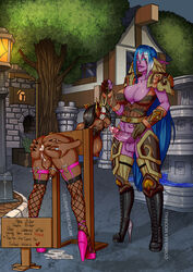 2girls anal anal_gape animal_ears anthro areola armor ass_grab bent_over big_ass big_breasts big_penis black_hair blue_eyes blue_hair boots breasts brown_skin busty canine cleavage cock_ring cum cum_drip cum_in_anus cum_in_ass cum_inside cum_on_balls cum_pool cum_taste cumdrip dickgirl dwina_nea_moonfall ear_piercing earring earrings elf fingerless_gloves fishnet fishnet_thighhighs fishnets furry futa_on_futa futanari gape gaping gaping_anus garter_belt garter_straps gauntlets gloves glowing_eyes high_heels intersex large_breasts large_penis leash licking licking_penis long_hair luenas night night_elf nipple_piercing nipples oral piercing pillory prostitution public public_use purple_skin ring rings shemale shoulder_guards stockings street tattoo thighhighs tied tied_up tights tortuga two-tone_hair vest voluptuous white_hair worgen world_of_warcraft wow