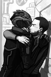 commander_shepard drell gay kolyat_krios mass_effect mouse thane_krios