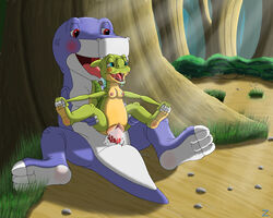 chomper ducky land_before_time tagme zimli