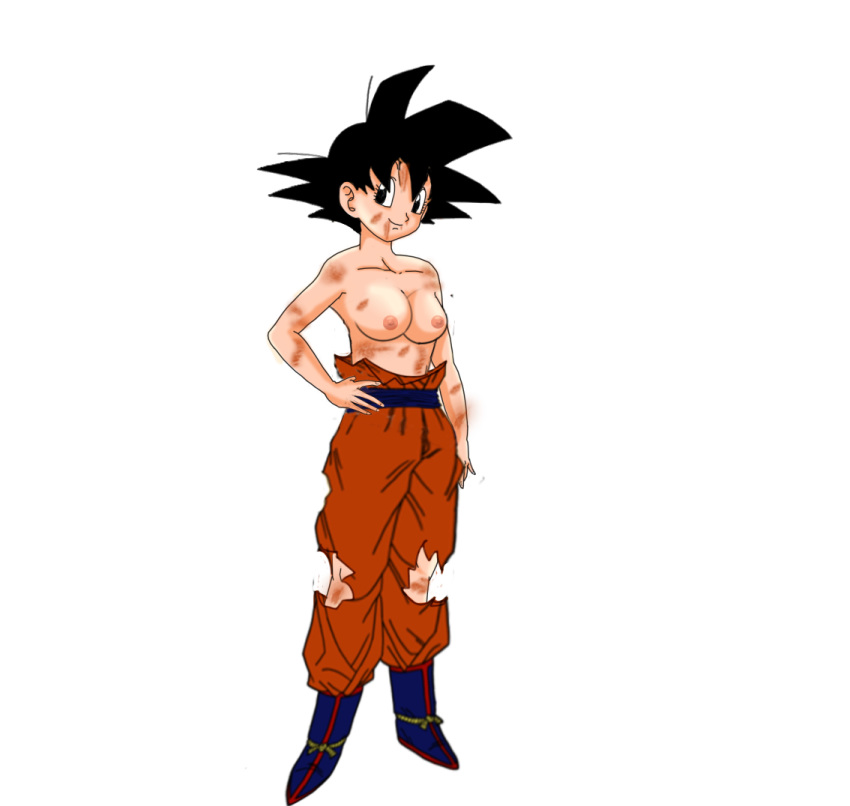 Dragon ball topless — img 1