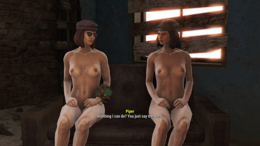 Caught fallout piper nude masterbating stories bdsm