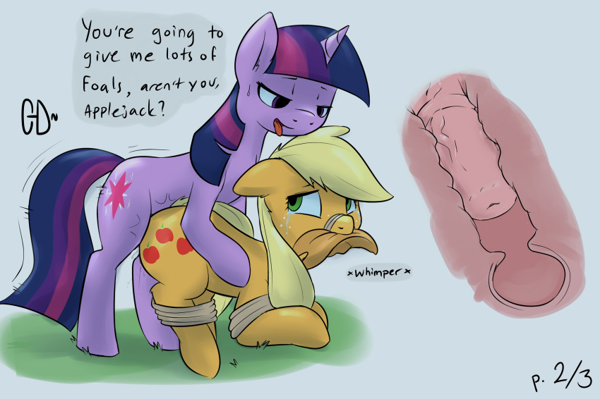 Mlp futa twilight sparkle face fuck in bed with cumshot 6