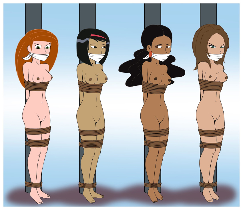 kim-possible-gagged-naked